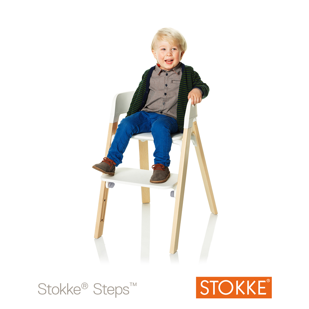 Stokke steps asiento stokke steps silla for Sedia stokke bambini